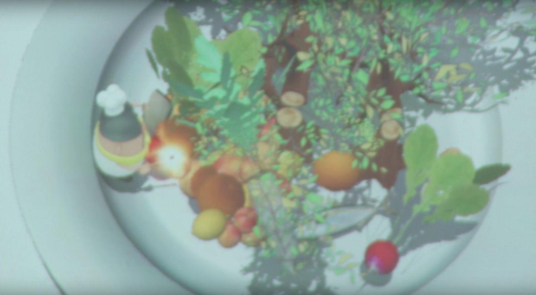 テーブルで「不思議な映像体験」を楽しめるレストランが、期間限定でオープン!