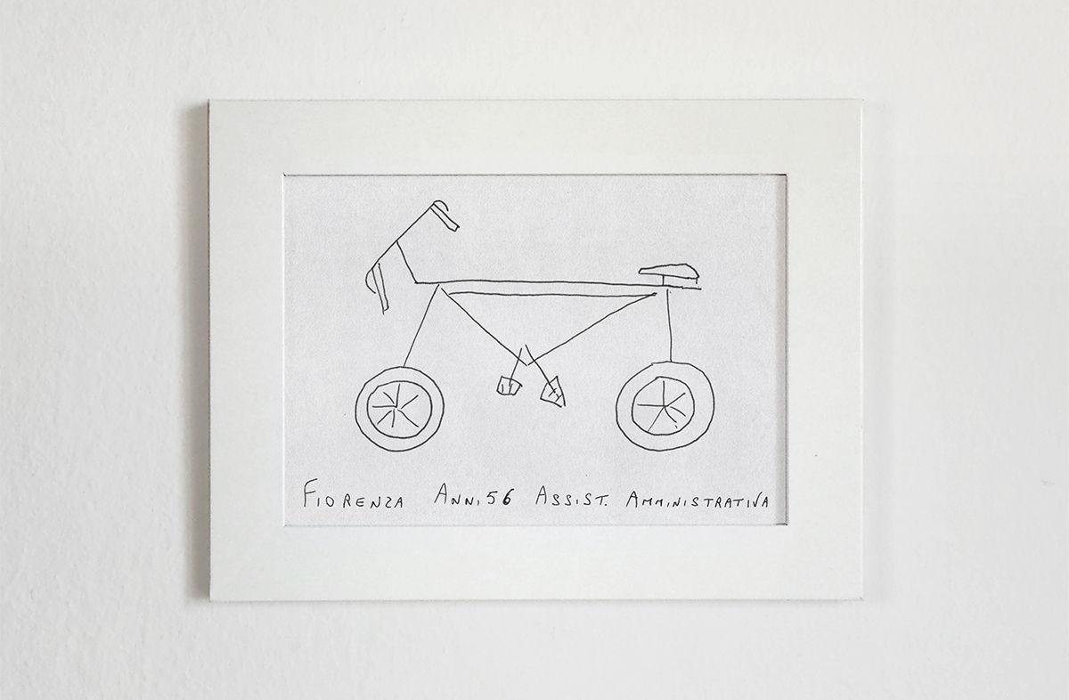 「何も見ないで自転車を描いて」。イラストをCG化してみると、想像の斜め上をいくデザインだった