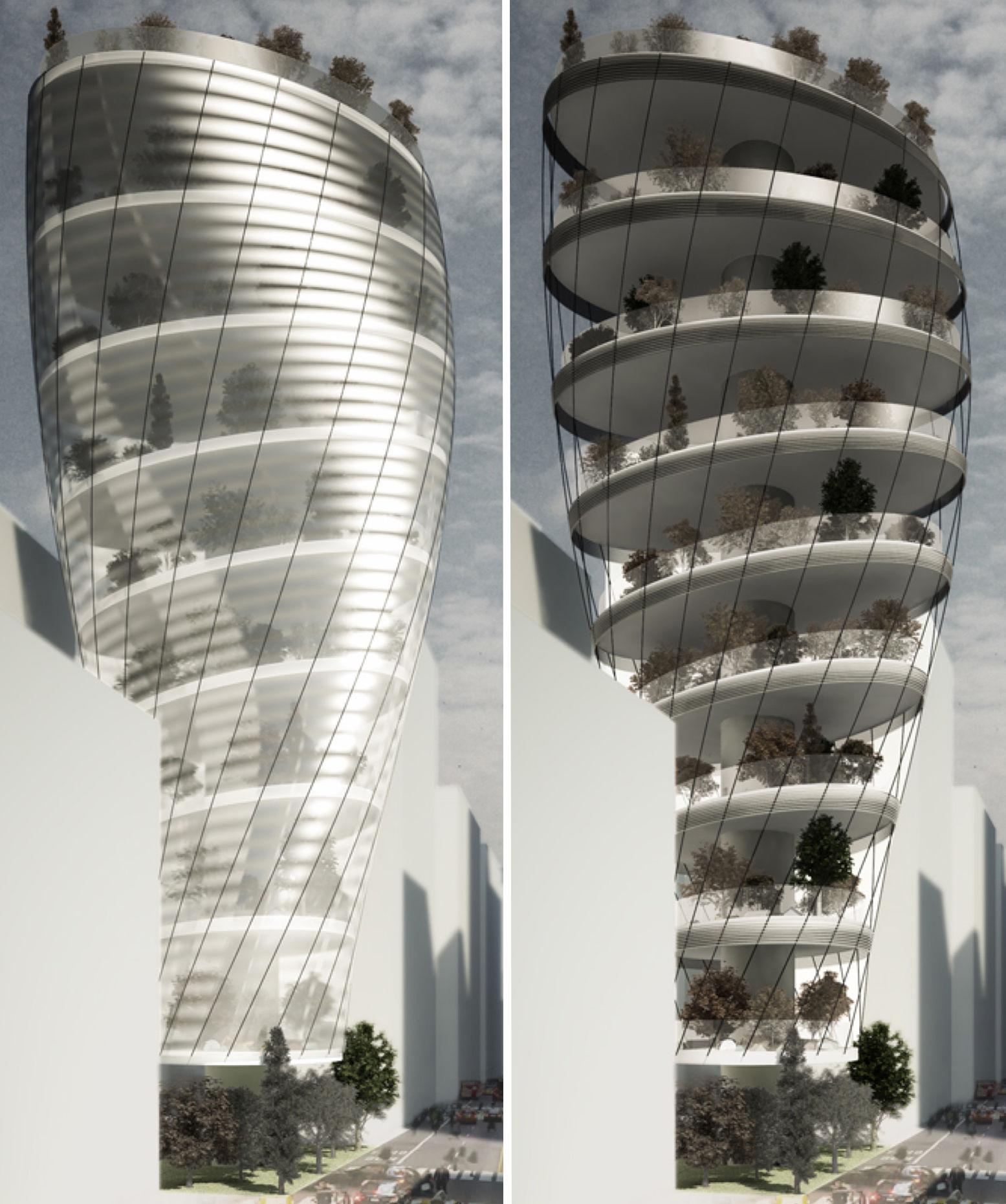 新しい都市の姿!?NY摩天楼に「キャンプ場」ができちゃうかも