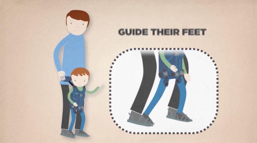 母の愛が生んだ「二人三脚」の歩行器具デバイス