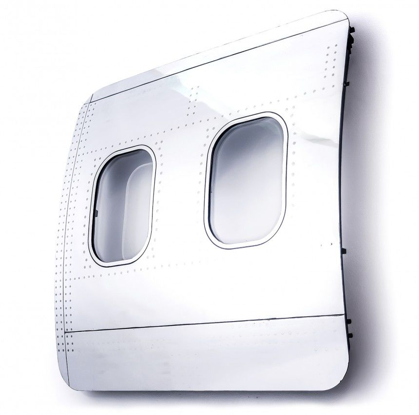 現役を退いた「旅客機のパーツ」でつくる、エコでジャンボな家具