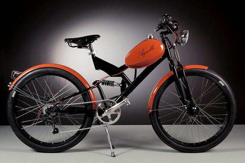 1950年代のバイクパーツを使った「電動自転車」はいかが?(イタリア)