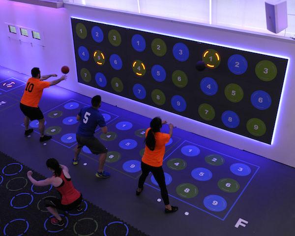 NYに誕生した「ゲーム感覚」でエクササイズできるジム。これは楽しそう!(動画あり)