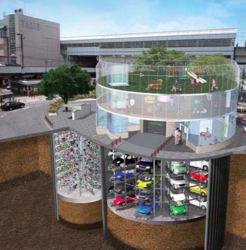日本の駐輪場がハイテクで凄い!と、海外で話題に。たしかに思わず行ってみたくなる・・・