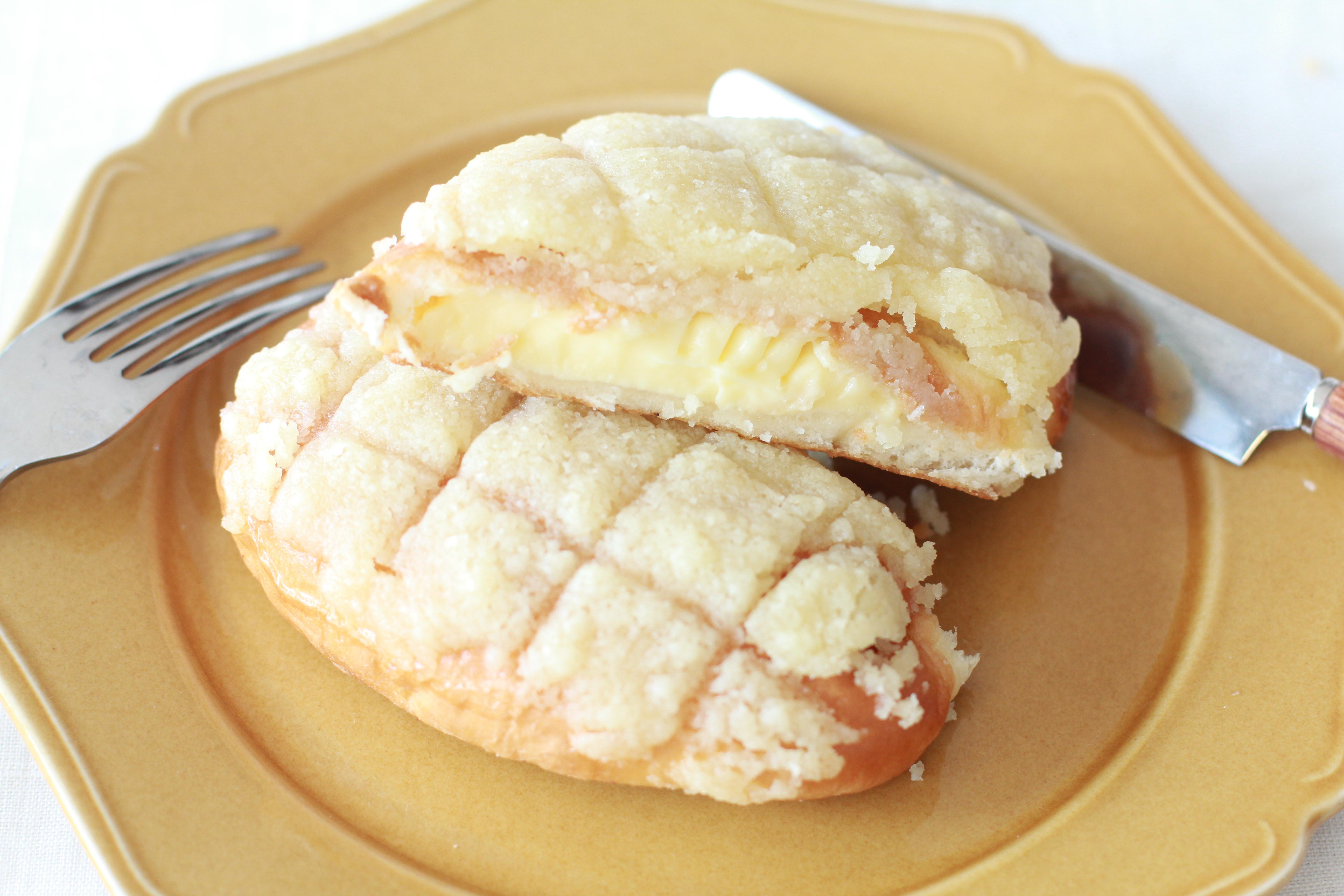 ネットで話題の「メロンパントースト」いろんなパンで作ってみませんか?