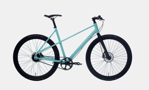 はじめまして。スリムな「電動アシスト付き」自転車です