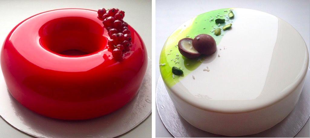 つやピカ!「鏡みたいなケーキ」が大人気♡