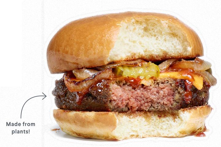 この美味しそうなお肉、野菜なんです。