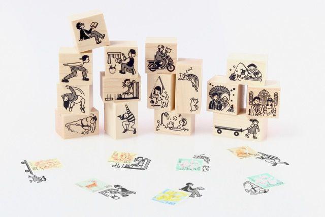 手紙に物語を添えて。「切手のこびと」がかわいすぎ!