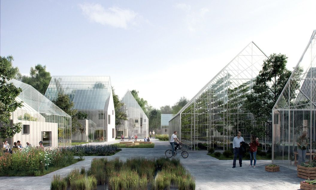 半自給自足できる「アーバンなエコビレッジ」が、アムステルダム近郊に建設開始!