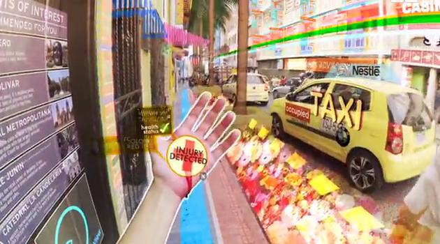 【動画あり】日常にVRが溢れた未来の世界「HYPER-REALITY」がスゴイ