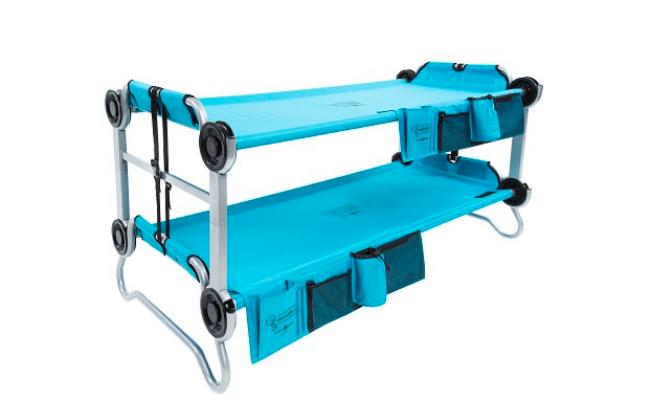 子供でも持ち運べる「2段ベッド」がアウトドアで活躍してくれそう!