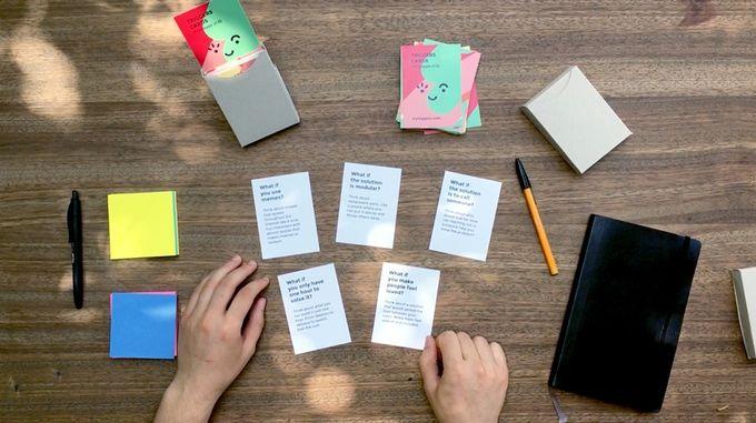 重た〜い会議にサヨウナラ。アイデアがどんどん出てくる「質問カード」って?