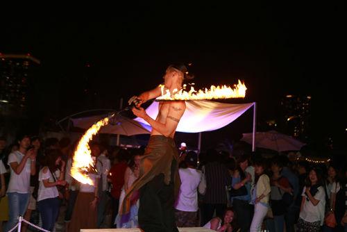 東京都内にある白砂のビーチでオープンエアーディスコ!「トロピカルハウス」のイベントが開催(6月25日〜)