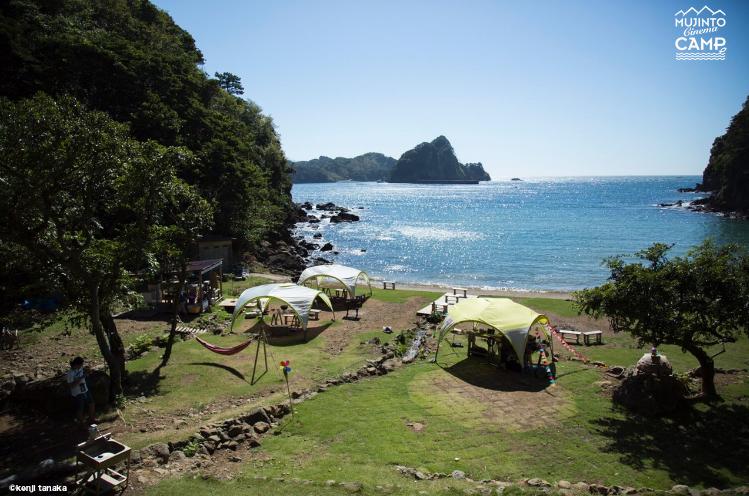 西伊豆の無人島を貸し切るシネマキャンプ。「フェス2.0」ってなに?
