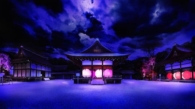 世界遺産、糺の森が光のアート空間に!(京都・下鴨神社)