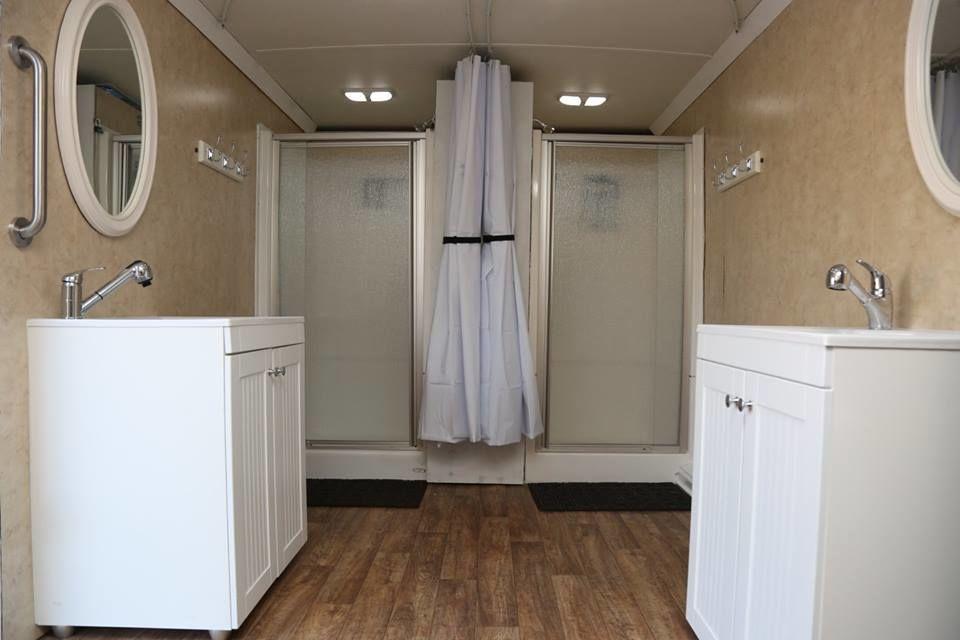 ホームレスたちの鼻歌が聞こえてくる、その名も「シャワー・トゥ・ザ・ピープル」