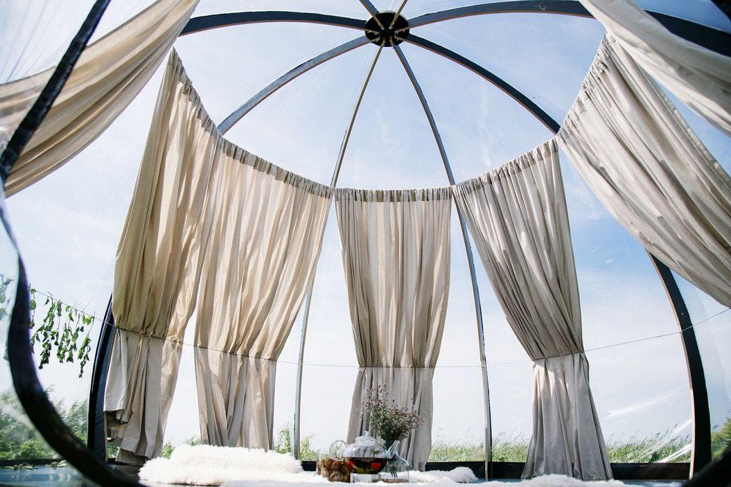 「360°パノラマ」で星空が見える素敵なテント