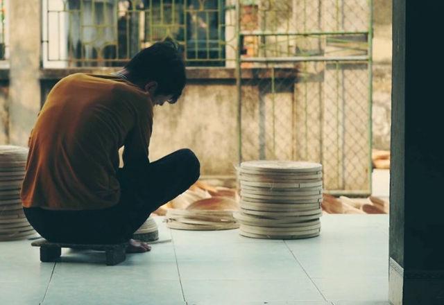 ベトナムの伝統竹細工から生まれた、部屋になじむスピーカー