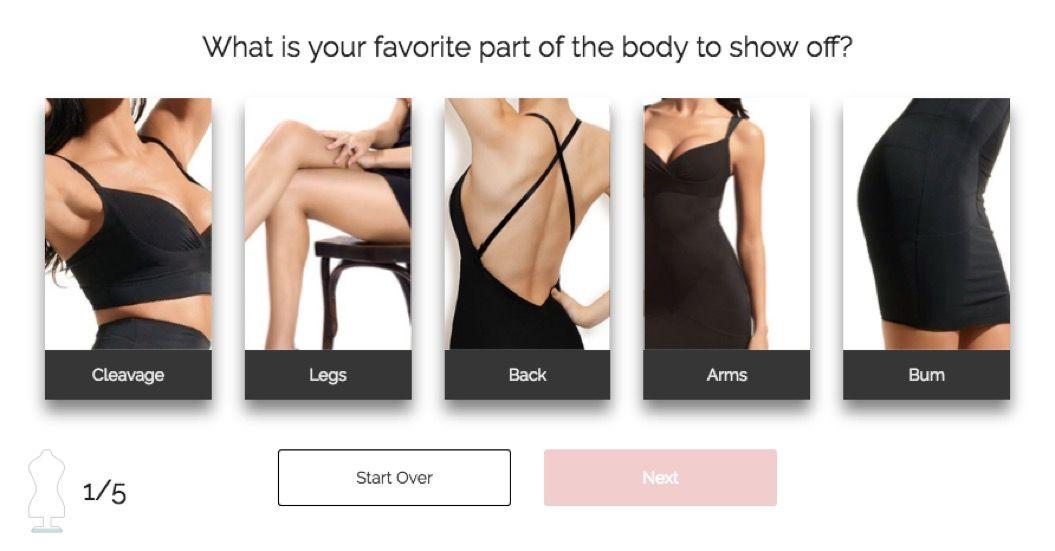 服選びの新しい提案。「見せたいパーツ」はどこ?