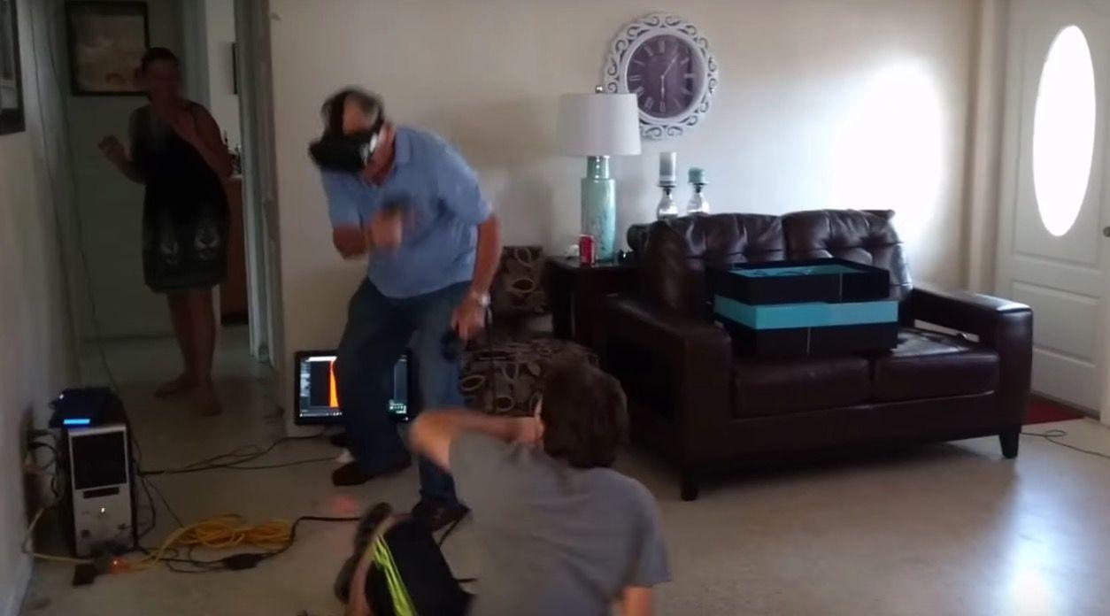 81歳の誕生日に、VRゲームでゾンビを倒しまくったおじいちゃん。