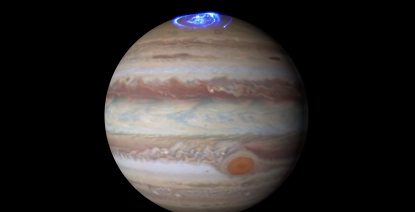NASAが公開したオーロラの映像。実はこれ・・・