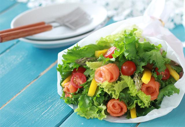 SNSで話題の「花束みたいなブーケサラダ」を作ってみたい!