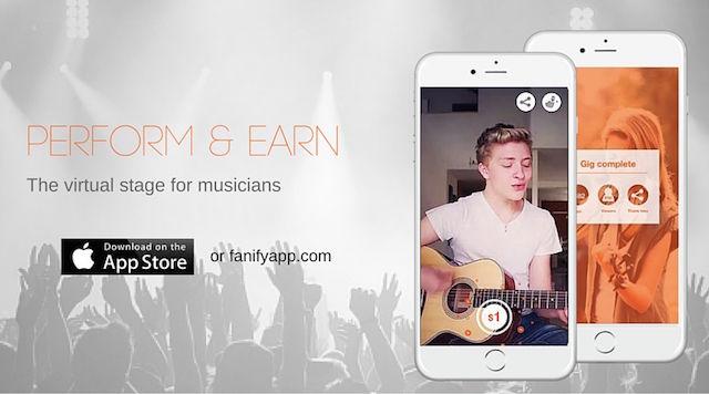 ミュージシャンが、スマホでライブを開催できるアプリが登場