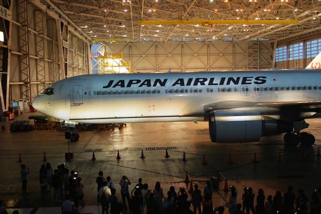 「航空機」へのプロジェクションマッピングは、初めて見ました。(動画あり)