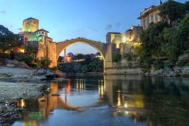 【ダークツーリズム】民族分断の象徴となったボスニアの石橋「スタリ・モスト」