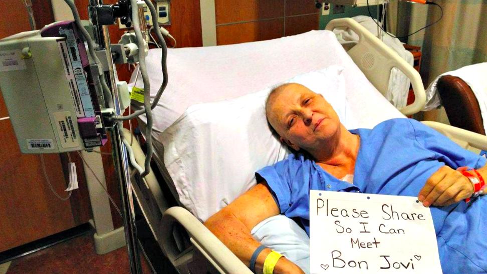 「ボン・ジョヴィに会わせて」。ガンと闘う母のため、Facebookで拡散を呼びかけた結果・・・