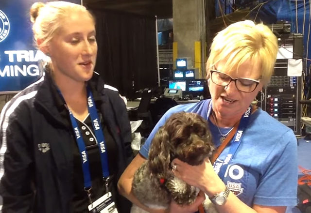オリンピックを賭けた真剣勝負。レース直前の選手をリラックスさせたのは、30匹の犬だった