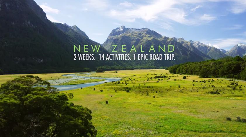 自然の楽しみ方はすべて、ニュージーランドが教えてくれた。