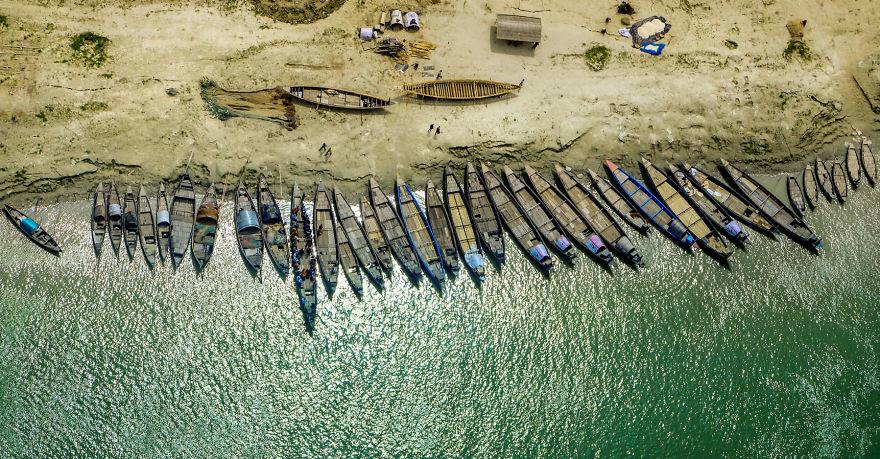 バングラデシュのパイロットが撮った「緑豊かな母国」が神秘的(写真21枚)