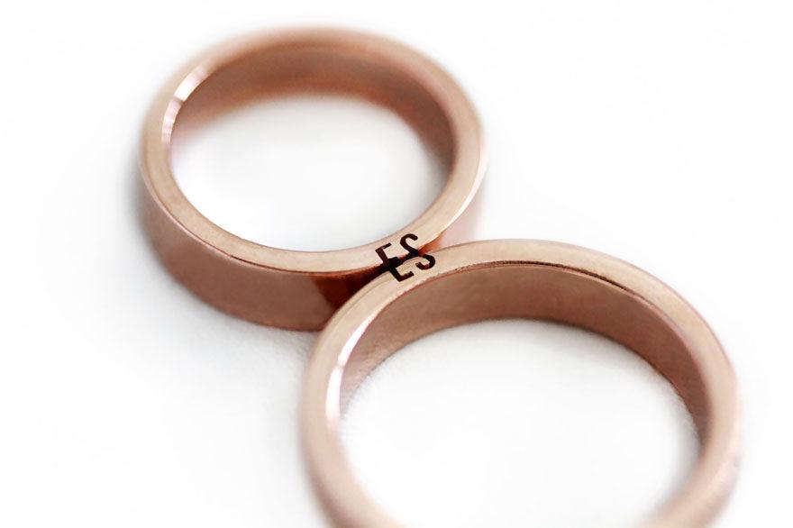 「夫婦はふたりでひとつ」ちょっとした秘密が隠された結婚指輪がステキ!