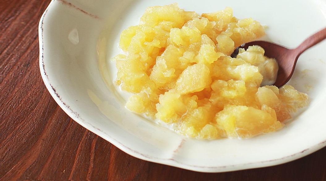 ふんわりバニラの香り。お米を使わないデンマークの「リンゴ粥」は夏バテ予防にもイイみたい