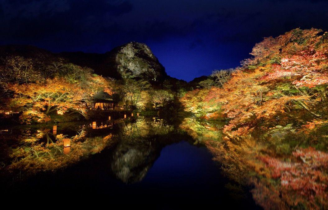 【創設170年】御船山楽園で「紅葉まつり」が開催!日本最大級のライトアップも