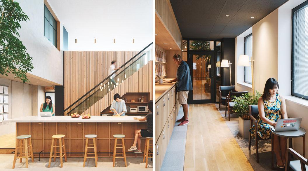暮らすように、旅するように働く!Airbnbの新「東京オフィス」写真。