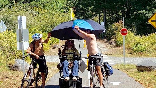 「車いすの男」が、300マイルの過酷なトレイルライドに旅立ったワケ