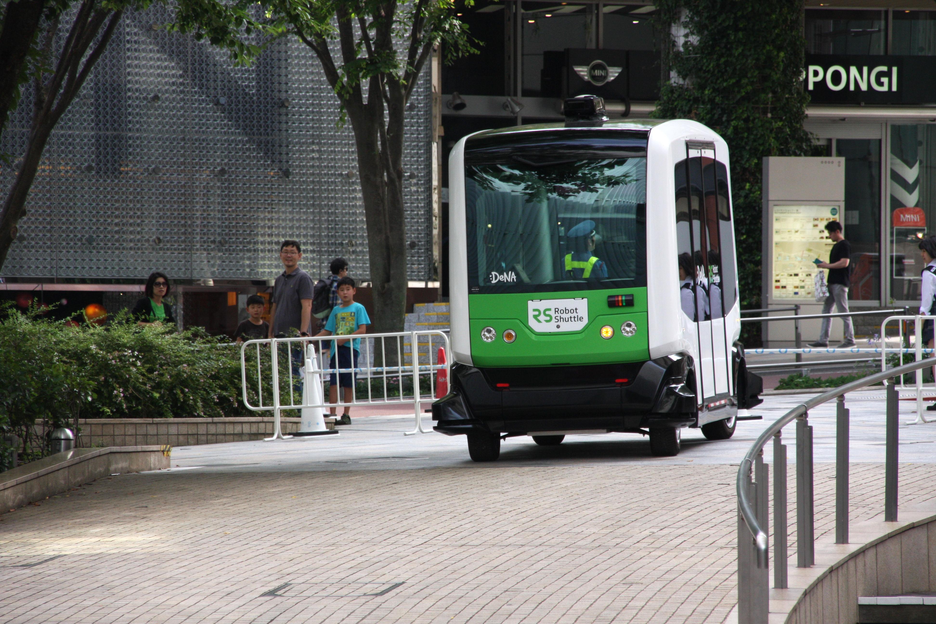 世界に先駆けヘルシンキで「無人運転バス」の運用がスタート