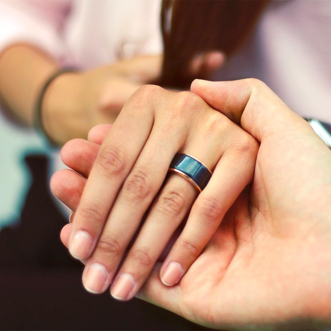 どんなに離れていても「大切な人を身近に感じる」指輪型デバイス