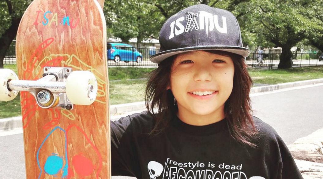 伝説を継ぐ13歳のスケートボーダー「ISAMU YAMAMOTO」に世界が驚愕