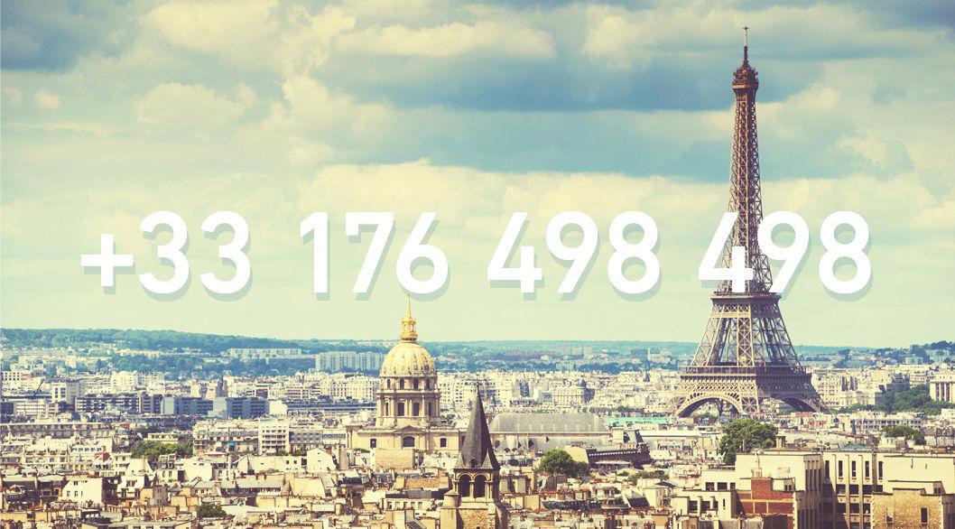 アロ?フランスの「誰か」に繋がる電話番号が開設!