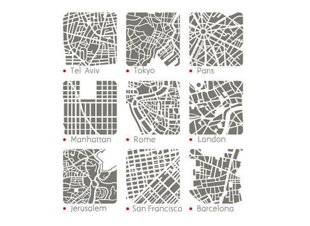 パリやロンドン、東京…世界の都市がアクセサリーになった