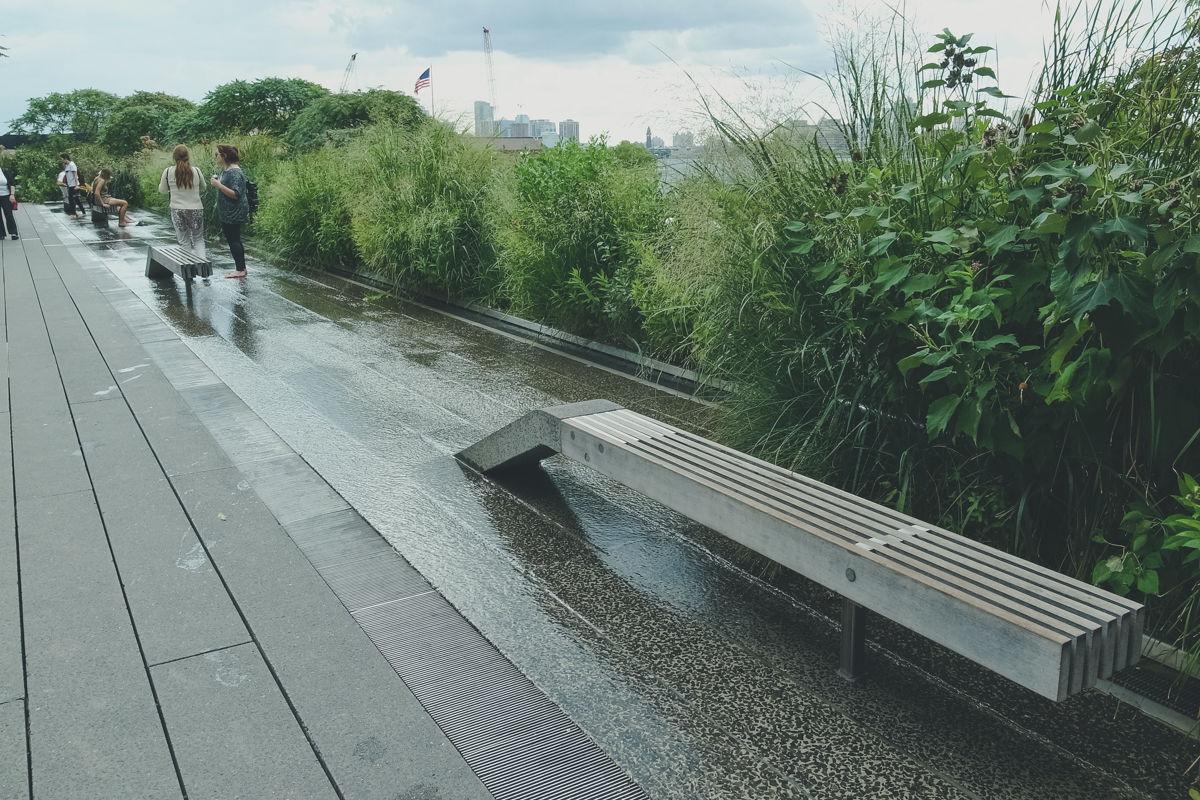 ニューヨーク随一の空中庭園が妙に和むのは、雑草のせいかもしれない