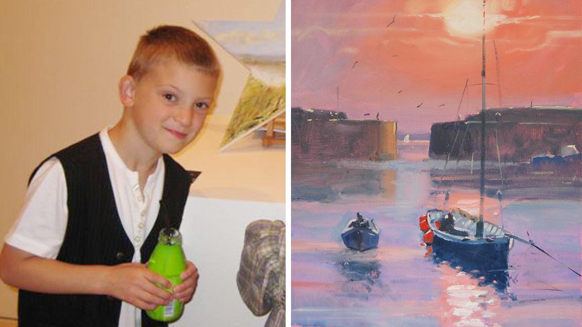 「ミニ・モネ」と呼ばれる、弱冠14歳の天才画家