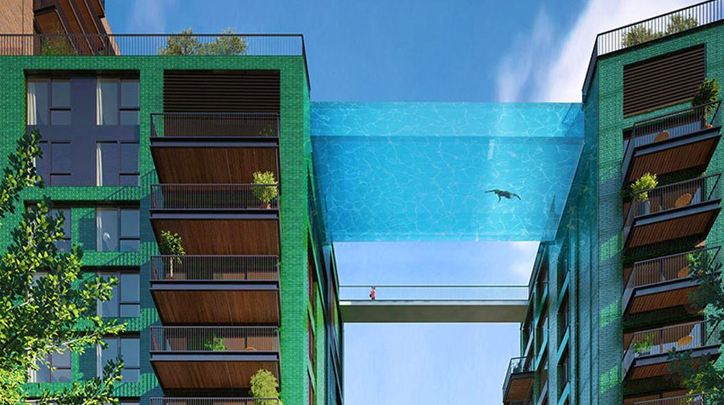世界初「ガラスのプール」がロンドン上空に登場!?