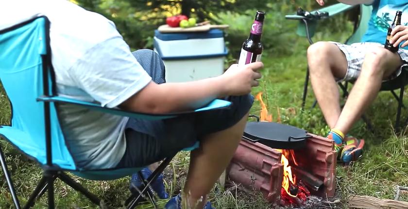 重量5kgと聞いてもなお、キャンプに連れていきたい「ピザ用クッカー」