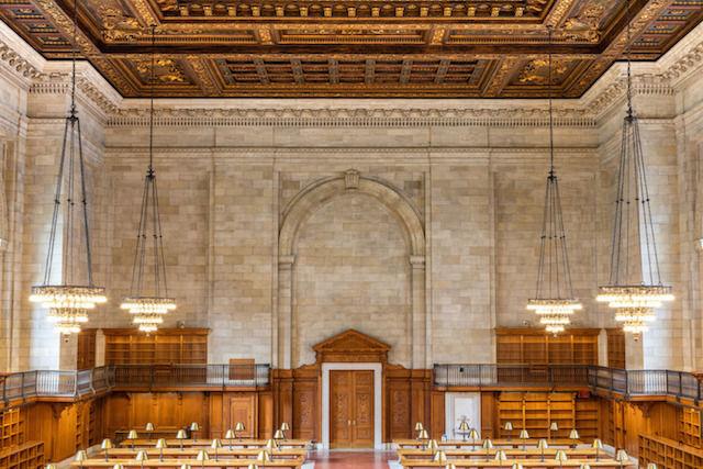 2年間の改修工事がついに終了。姿を現したニューヨーク公共図書館「薔薇の読書室」