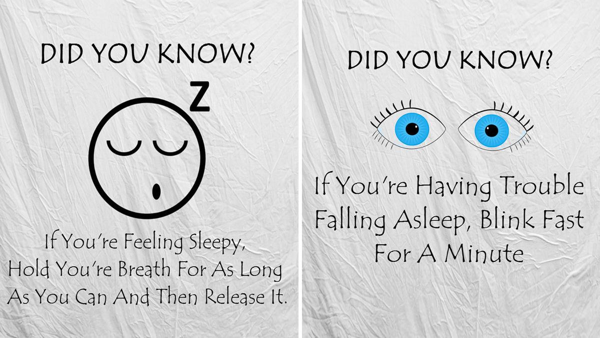 眠れないときは○○すべき!妙に試したくなる「カラダの雑学」